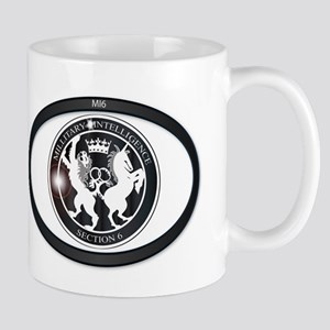 MI6 Oval Badge Mugs