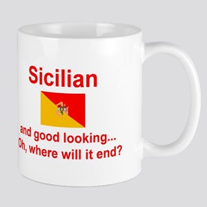 Good Looking Sicilian Mug