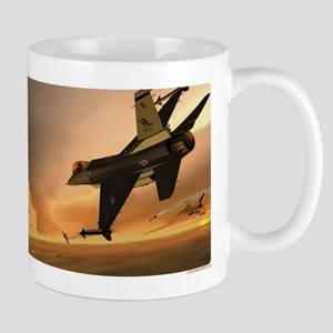 Hill 388th F-16s vs MiG-29s Mug