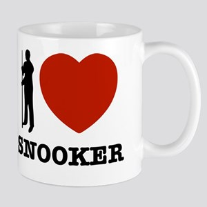 I love Snooker Mug