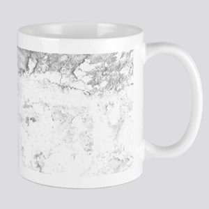 Gray and White Marble Look Mugs