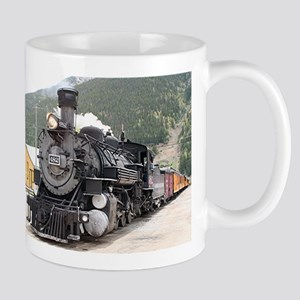 Steam train engine Silverton, Colorado, USA 8 Mug