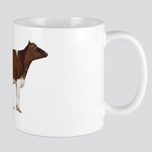 Red and White Holstein cow Mug