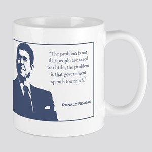 Reagan / Taxes Mug