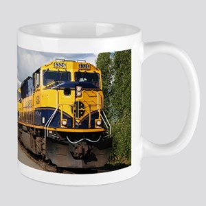 Alaska Railroad engine Mug