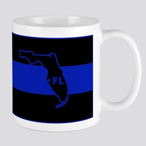Thin Blue Line Florida Mug