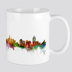 Cincinnati Ohio Skyline Mugs