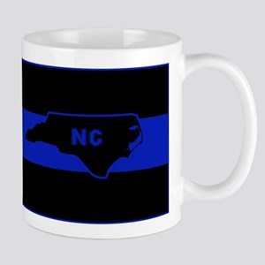 Thin Blue Line - North Carolina Mugs
