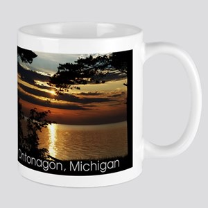 Ontonagon, Michigan Sunset Mug