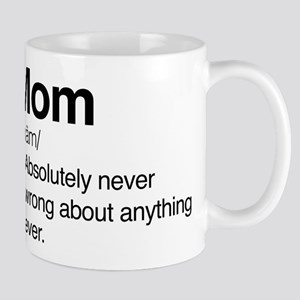 Mom Never Wrong Mug