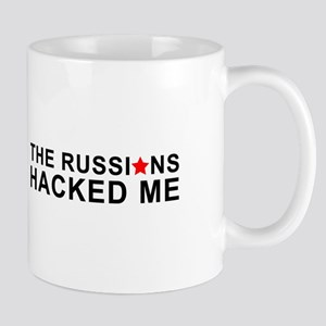 the russians hacked me Mugs