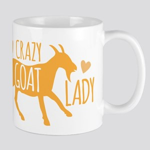 Crazy Goat Lady Mugs
