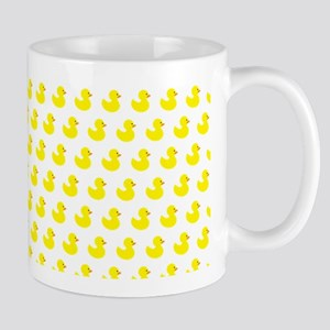 Rubber Ducky Pattern Mugs