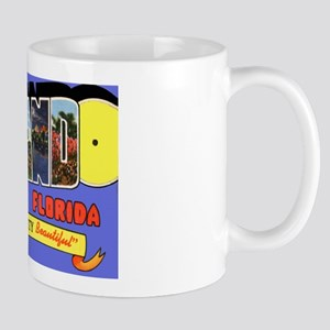Orlando Florida Greetings Mug