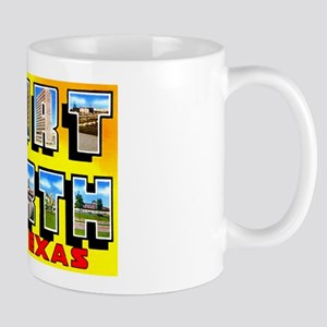 Fort Worth Texas Greetings Mug