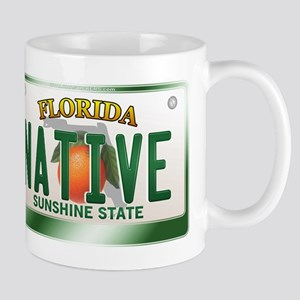 """NATIVE"" Florida License Plate Mug"