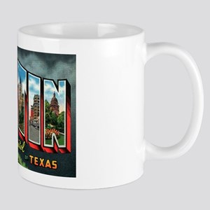 City Of Austin Postcard Mug
