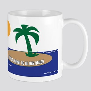 Island Beach Saying Mug