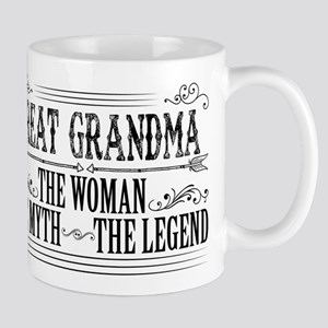 Great Grandma The Legend... Mugs
