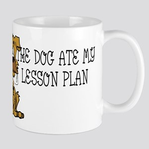 My Dog Ate My Lesson Plan Mug