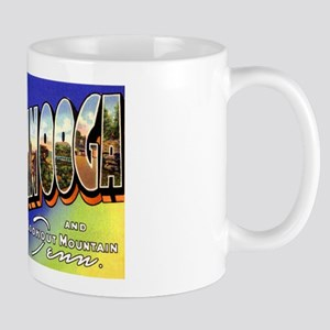 Chattanooga Tennessee Greetings Mug