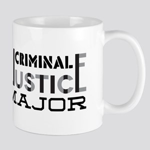 Criminal Justice Major Mugs
