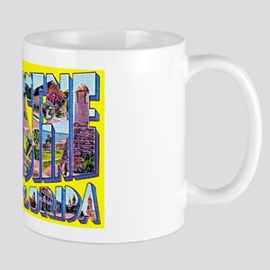St Augustine Florida Greetings Mug