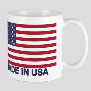 MADE IN USA (w/flag) Mug