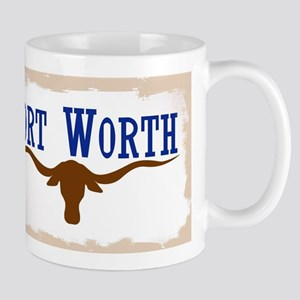 Flag of Fort Worth Mugs