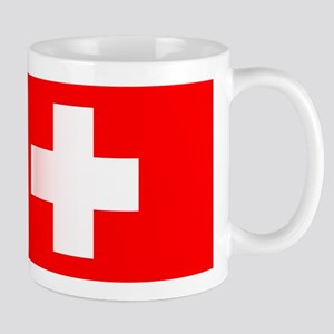 Swiss National Flag Mugs