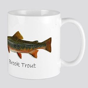 Painting of Brook Trout Mug