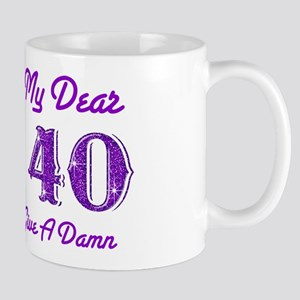 Frankly, Scarlett 40th Birthday Mug