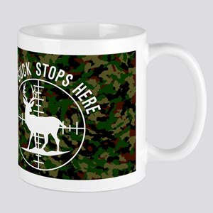 Buck Stops Here 11 oz Ceramic Mug