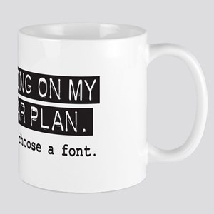 Five Year Plan (white) Mug