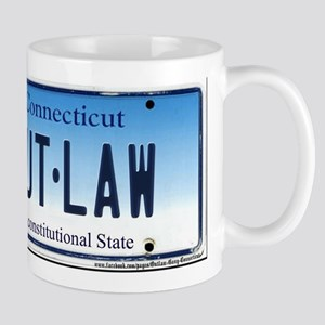 Connecticut Outlaw Plate Mug
