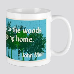 John Muir Quote Mugs