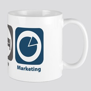 Eat Sleep Marketing Mug