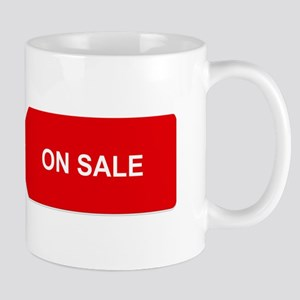 Red Tag Sale - On Sale Mugs