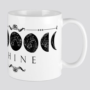 MoonPhases-BLK Mugs