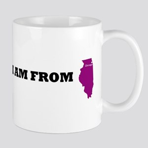 chicago-map Mugs