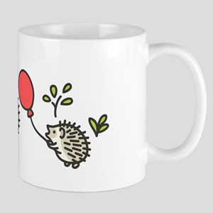 Baby Hedgehog's Red Balloon Mug