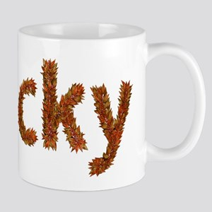 Vicky Fall Leaves Mugs