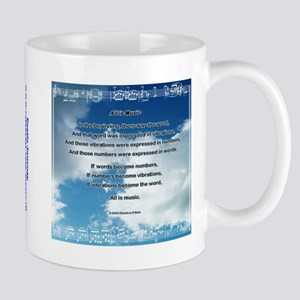 All Is Music Nature Poetry Mug