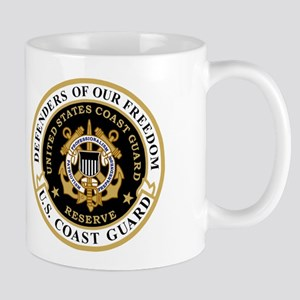 USCGR Master Chief<BR> 11 Ounce Mug 2