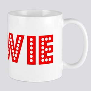 Retro Bowie (Red) Mug