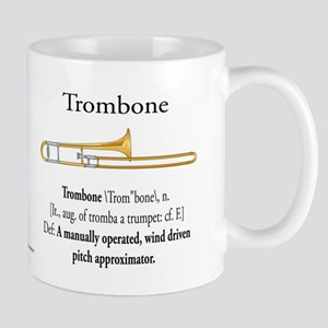 Trombone Pitch Approxomator Mug