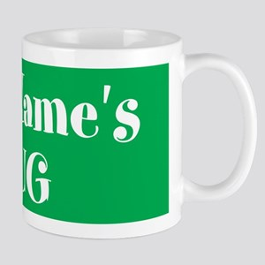 GREEN Personalized Mug