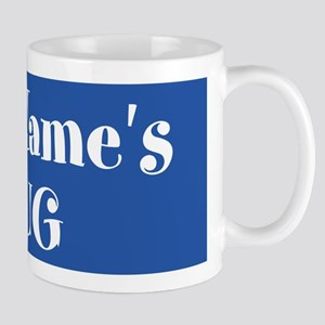 BLUE Personalized Mug