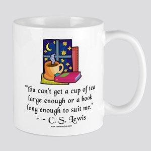 Tea & Books w Quote Mug
