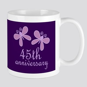 45th Anniversary Keepsake Mugs